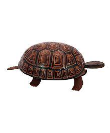 Welby Tortoise Tin Toy - Brown Black