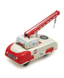 Welby Tow Truck Toy - Red White