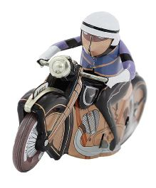 Welby Racing Motor Cycle Toy - Blue Black