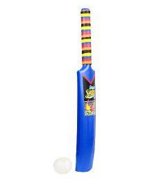 Ankit Toys Bat Ball No 4 - Blue