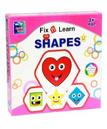 Ankit Toys Fix N Learn Shape Puzzle Set Pack Of 4 - 36 Pieces
