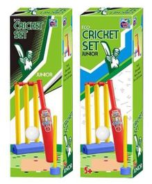 Ankit Toys Eco Cricket Junior Set - Multicolor