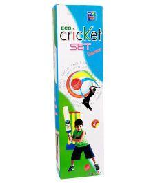 Ankit Toys Eco Cricket Senior Set - Multicolor