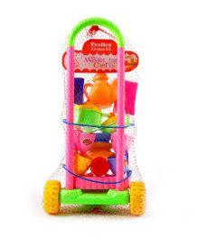 Ankit Toys Tourist Kitchen Trolley Set - Multicolor