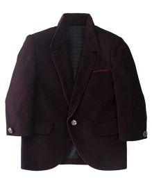 Robo Fry Full Sleeves Coat - Purple