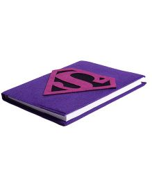 Li'll Pumpkins Superhero Diary - Purple