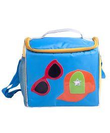 Li'll Pumpkins Hat & Sunglasses Sling Bag - Aqua