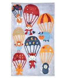 Myrugs Parachutes Handmade Carpet - Sky Blue
