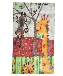 Myrugs Tiger Handmade Carpet - Multicolour