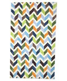 Myrugs Colored Bricks Handmade Carpet - Multicolour