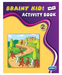 Navneet Brainy Kid Activity Book Part 2 - 32 Pages