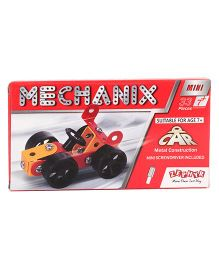 Zephyr Mechanix Construction Car Set- 33 Pieces