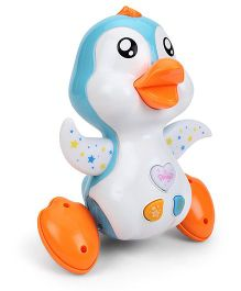 Mee Mee Playful Musical Penguin Toy - Blue