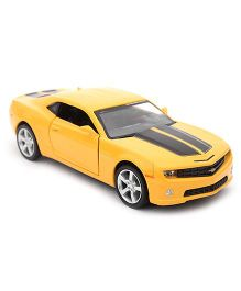 RMZ Chevrolet Camaro Die Cast  Model Car Toy - Yellow