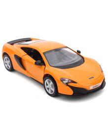 RMZ McLaren 650 Pull Back Car - Orange