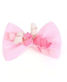 Buttercup From KnittingNani Crocodile Clips - Pink