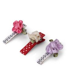 Funkrafts Hair Clips Combo - Multicolor