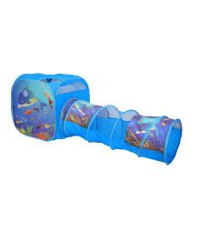 Playhood Ocean Tunnel Tent - Blue