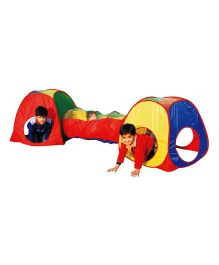 Playhood Tunnel House - Multicolor