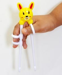 Tipy Tipy Tap Teddy Learning Chopsticks - Yellow