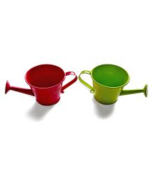 Tipy Tipy Tap Set Of 2 Mini Water Can Set - Pink & Green
