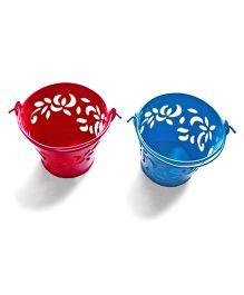 Tipy Tipy Tap Set Of 2 Mini Bucket Set - Pink & Blue