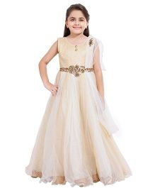 Betty By Tiny Kingdom Evening Gown - Cream