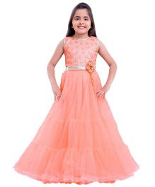 Betty By Tiny Kingdom Evening Gown - Peach