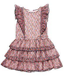 Chicabelle Sleeveless Girl Dress - Pink