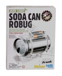 4M - Green Science Soda Can Robug