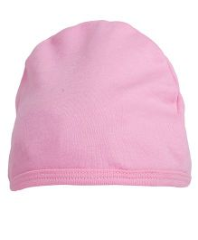 NeedyBee Solid Beanie For Newborn - Pink