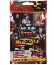 Topps WWE Takeover Multi Pack Trading Card Game - Multi Color