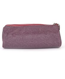 PEP INDIA Trendy Gitter Round Pouch - Purple