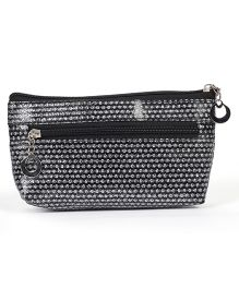 PEP INDIA Dainty Dots Pouch - Black