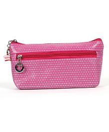 PEP INDIA Dainty Dots Pouch - Pink
