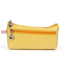 PEP INDIA Dainty Dots Pouch - Yellow