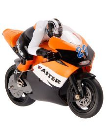 The Flyer's Bay Remote Controlled Motorcycle - Orange Black