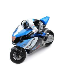 The Flyer's Bay Remote Controlled Motorcycle - Blue Black