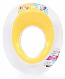 Nuby Potty Training Seat - Yellow And White