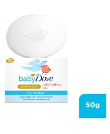 Baby Dove Baby Soap Bar Rich Moisture - 50 gm