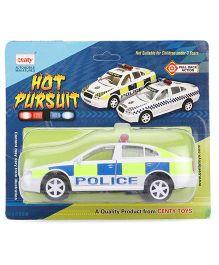 Centy Skoda Hot Pursuit UK Police Car Toy - White