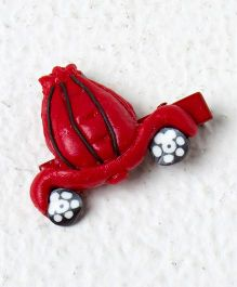 Kidcetra Car Shaped Hair Clip - Red