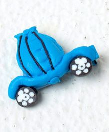 Kidcetra Car Shaped Hair Clip - Blue