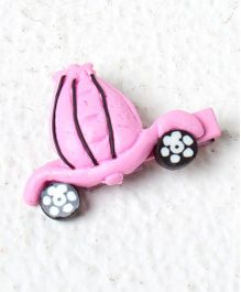 Kidcetra Car Shaped Hair Clip - Light Pink