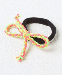 Kidcetra Ponytail Band With A Braided Hairtie - Multicolour