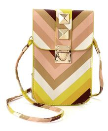 Little Hip Boutique Vertical Sling - Yellow & Peach