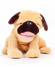 Hamleys Movers And Shakers Pug Dog Brown - 28 cm