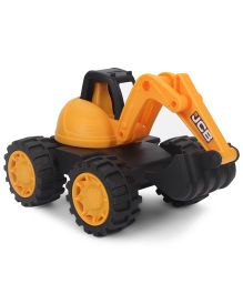 JCB Excavator Construction Toy Vehicle - Yellow Black