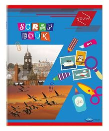 Youva Scrap Book Soft Bound Multicolor - 64 Pages