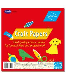 Youva Craft Paper Book - 25 Sheets